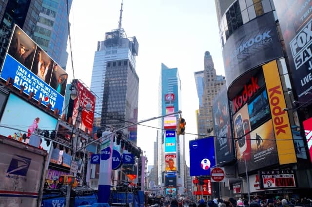 ニューヨークへ団体旅行で関空発着プラン